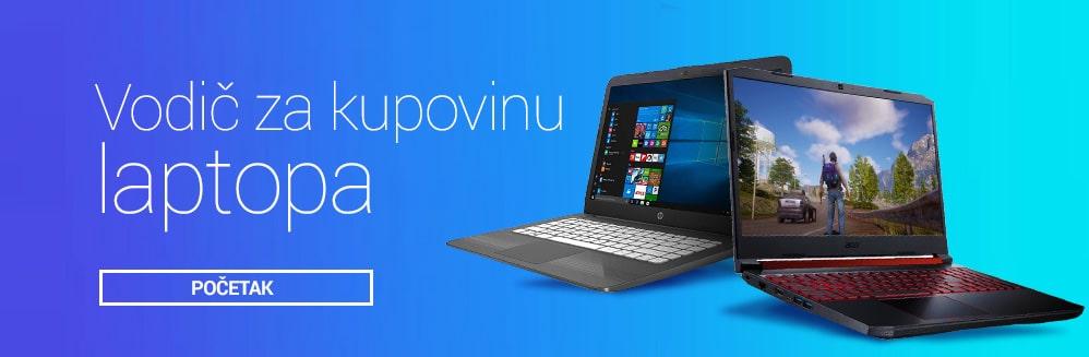 Vodič za kupnju laptopa