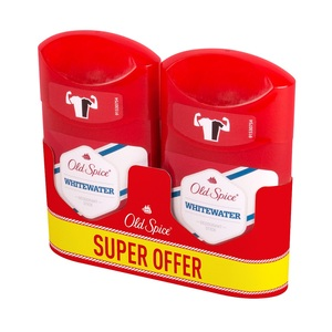 Old Spice deo stick whitewater 2x50ml