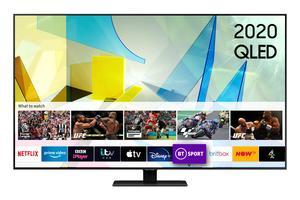 SAMSUNG QLED TV QE65Q80TATXXH,  QLED, SMART