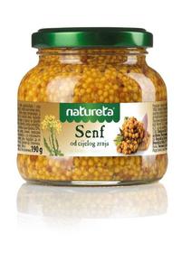 Natureta senf od cijelog zrnja 190 g