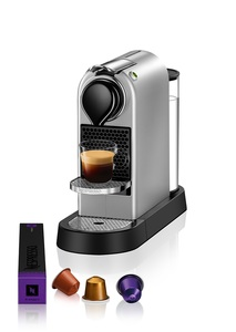 Nespresso aparat za kafu Citiz -Srebrni