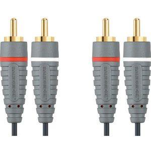 Bandridge BAL4205, audio kabel 2XRCA - 2XRCA, 5.0 m