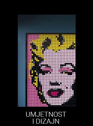LEGO za odrasle umjetnost i dizajn