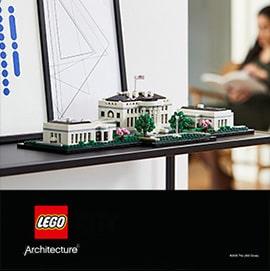 Lego za odrasle arhitektura