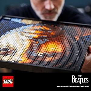 Lego za odrasle Beatles