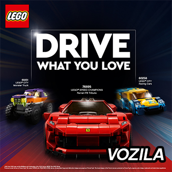 LEGO vozila