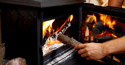 grijanje s peći na drva