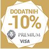 Tko prvi njegovo Visa premium 10% popusta
