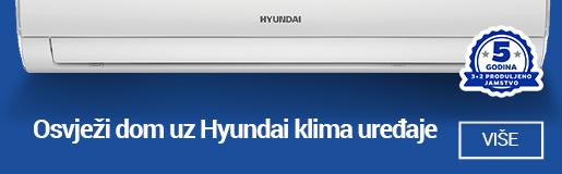 Hyundai klime uređaji 3+2 produljeno jamstvo