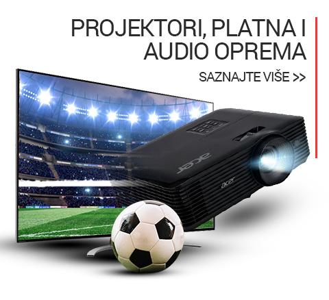 Projektori, platna i audio oprema Euro 2021