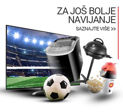 Spremni za navijanje kokice aparati, ledomati, tosteri Euro 2021