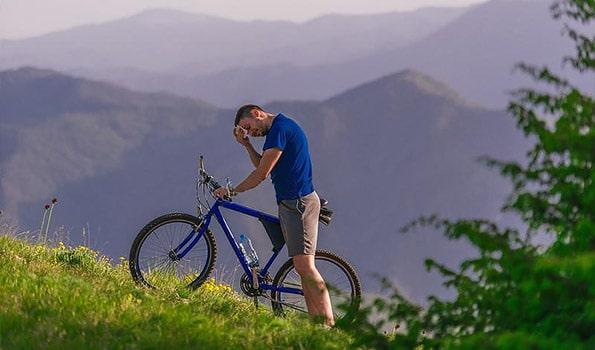 domet običnih bicikla