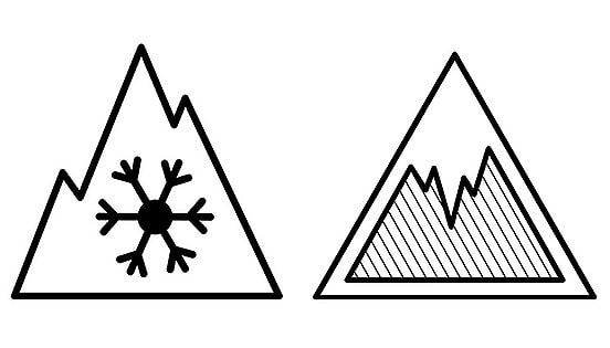 Dodatni piktogrami za uvjete snijega i leda