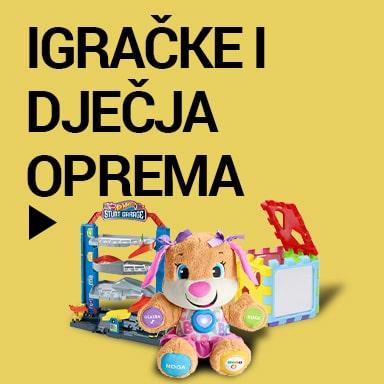 igračke, oprema za bebe Čišćenje zaliha i rasprodaja