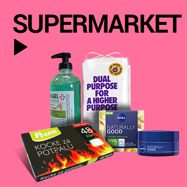Supermarket Čišćenje zaliha i rasprodaja