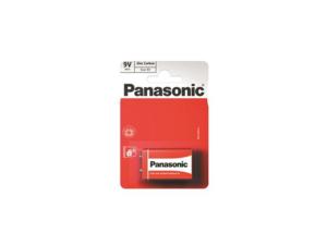 PANASONIC baterije 6F22RZ/1BP Zinc Carbon