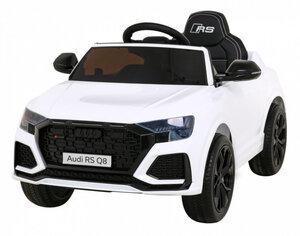 Licencirani Audi RS Q8 bijeli, auto na akumulator