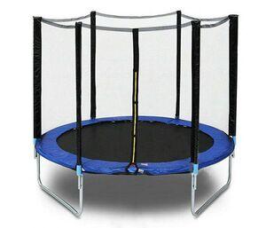 Trampolin 183 cm sa zaštitnom mrežom i stepenicama
