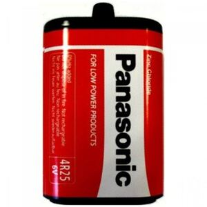 PANASONIC baterije 4R25RZ/B Zinc Chloride