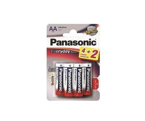 PANASONIC baterije LR6EPS/6BP 4+2F