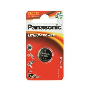 PANASONIC baterije CR-2032EL/1B Lithium Coin