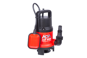 AGM ASP 8000 potapajuća pumpa za prljavu vodu