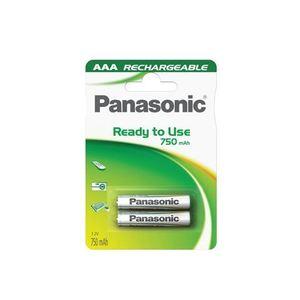 PANASONIC baterije HHR-4MVE/2BC - 2×AAA punjive 750mAh