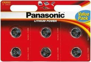 PANASONIC baterije CR-2032EL/6BP Lithium Coin