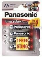 PANASONIC baterije LR6EPS/4BP -AA 4kom 3+1F Alkaline Every