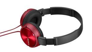 Sony slušalice ZX310 crvene