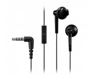 Panasonic RP-TCM55E-K, crne, slušalice sa mikrofonom