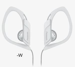 Panasonic RP-HS34E-W, bele, sportske, vodootporne, slušalice