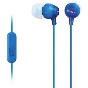 Sony slušalice EX-15 plave