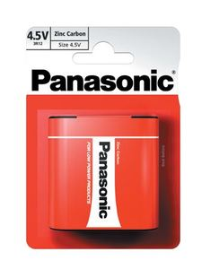 PANASONIC baterije 3R12RZ/1BP Zinc Carbon