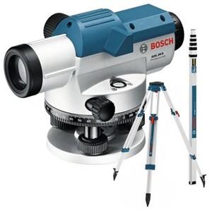 BOSCH Professional GOL 26 D + BT 160 + GR 500 JIT KIT - Optički nivelir + građevni stativ + mjerna letva