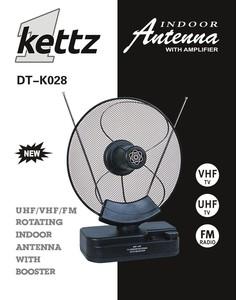 Kettz DT-K028, sobna TV/FM antena