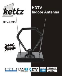 Kettz DT-K035, sobna TV/FM antena