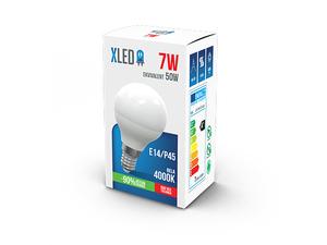 LED Sijalica/ E14/ 7W /P45 / 220V/ Bela / 4000K/ 560Lm/MINI