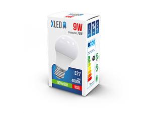 LED Sijalica/ E27/ 9W / 220V/ Bela / 4000K/ 800Lm