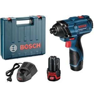 Bosch Professional GDR 120-LI akumulatorski udarni odvrtač (2x 1,5 Ah, AL 1210 CV, kofer)