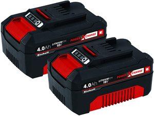 Einhell PXC Twinpack 18V 2 x 4,0 Ah baterije