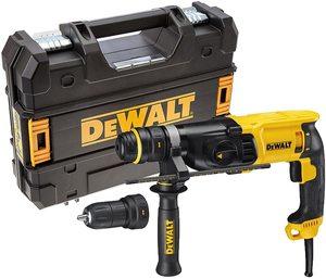 DeWalt D25134K elektro pneumatska čekić bušilica + brzopotezna glava