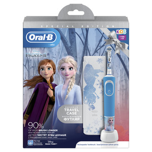 OralB Frozen + Travel Case električna četkica za zube