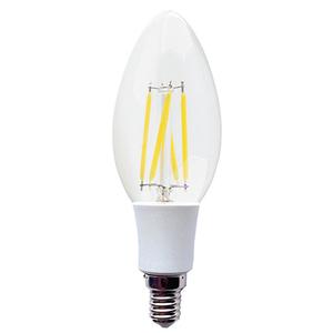 LED Sijalica/ E14/ 3W /FILAMENT/ 220V/Toplo Bela / 2700K/ 250Lm/Sveća-Minjon/Providno staklo