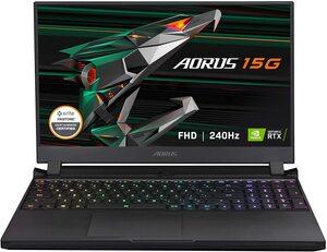 GIGABYTE AORUS 15 XC  NOT17654 15.6 FHD 240Hz Intel Core i7-10870H 2.2GHz,16GB RAMA,512 GB SSD,nVidia GeForce RTX 3070Q,Windows 10 Home,laptop