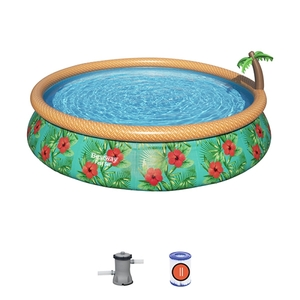 Bestway Fast set 57416 bazen za dvorište 457x84cm sa fontanom