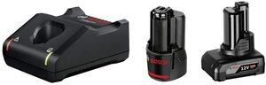 Bosch Professional 1x 12V 2,0Ah + 1 x 12V 4,0Ah + GAL 12V-40 starter set