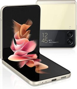 Samsung Galaxy Z Flip 3 8/128GB Cream, mobilni telefon